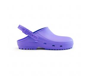 Schuzz-chaussure-sabot autoclavable BLOC-sabot plastique pro-sabot medical-femme-mauve