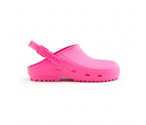 Schuzz-chaussure-sabot autoclavable BLOC-sabot plastique pro-sabot medical-femme-fuschia