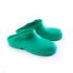 Schuzz-chaussure-sabot autoclavable BLOC-sabot plastique pro-sabot medical-femme-vert foncé