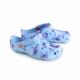 Schuzz-chaussure-sabot-globule-imprimé-infirmiere-sabot plastique-femme-hibiscus