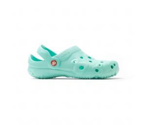 Schuzz-chaussure-sabot-globule-uni-infirmiere-sabot plastique-femme-bleu marine