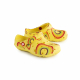 Schuzz-chaussure-sabot-globule-loisirs-extérieur-sabot plastique-enfant-rainbow jaune