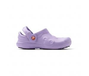 Schuzz-chaussure-sabot pro-infirmiere-sabot plastique-femme-violet