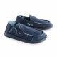Schuzz-chaussure-mocassin-Cesar-loisirs-chaussure toile-homme-bleu marine
