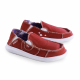 Schuzz-chaussure-mocassin-Cesar-loisirs-chaussure toile-homme-rouge