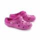 Schuzz-chaussure-sabot-globule-polaire-sabot plastique-femme-fuschia